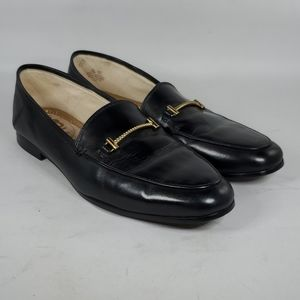 SAM EDELMAN Lior Black Loafers